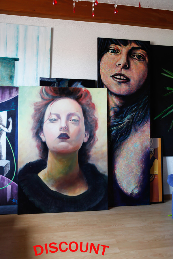 artiste peintre peinture portrait portraitiste photographe